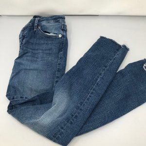 Lucky Brand Distressed Jeans with Raw Hems